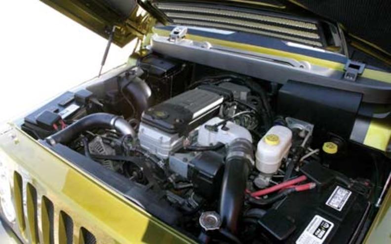 2005 Jeep Rescue Concept Engine View