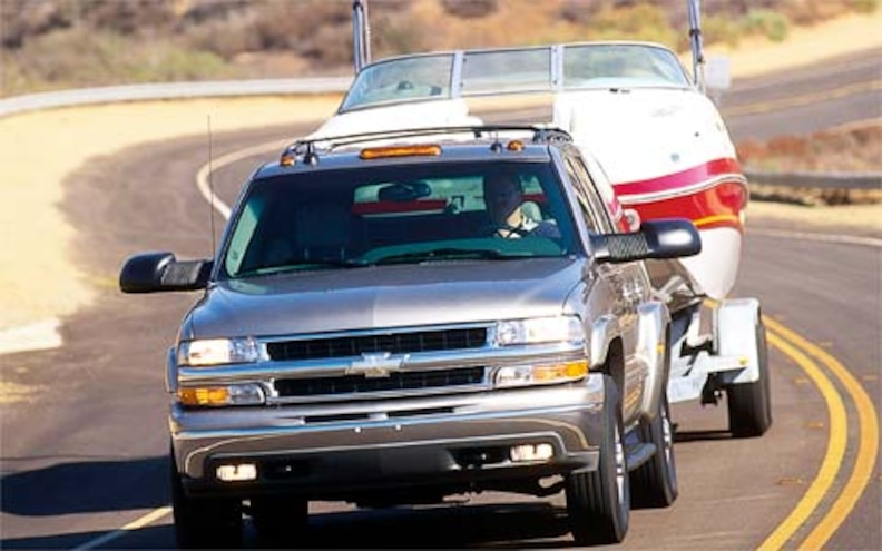 Chevy Suburban Towing Capacity >> 2003 Chevrolet Suburban 2500 First Drive Road Test
