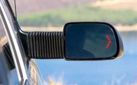 2003 Chevrolet Suburban 2500 Passenger Side Rearview Mirror Turn Signal