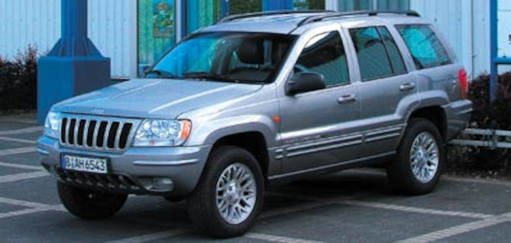 2002 Jeep Grand Cherokee Limited CRD 2.7