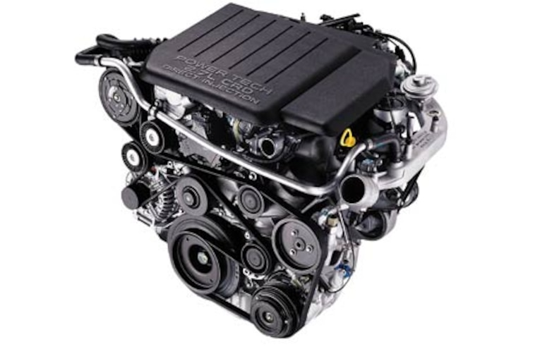 2002 Jeep Grand Cherokee Limited CRD 27 Engine View