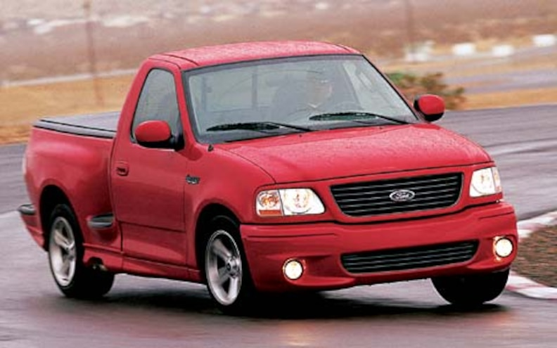 2004 Ford Lightning front Left View