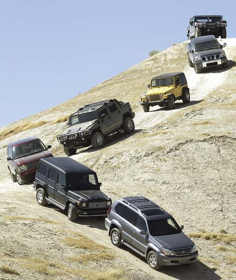 The Ultimate 4x4 Challenge: Rubicon, Hummer H1,
