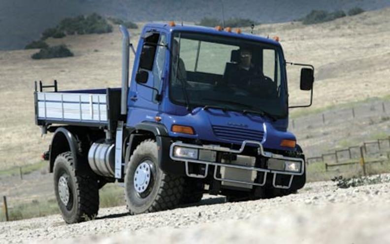 Ultimate Road Test: Unimog's U500Is
