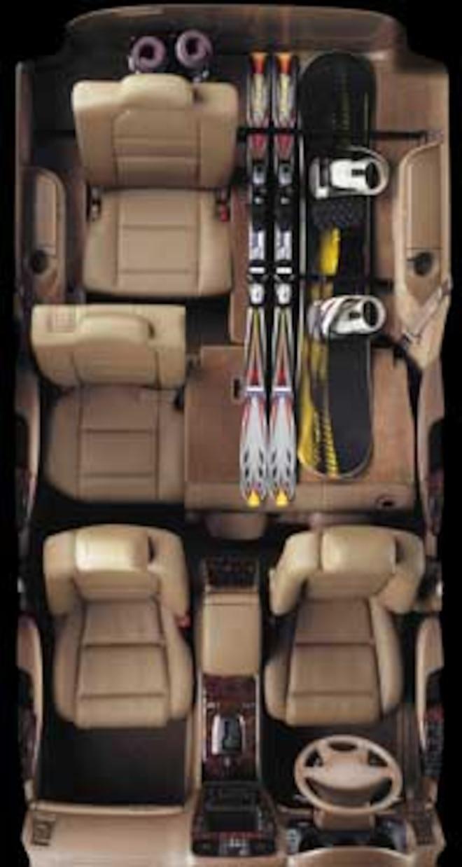2001 Acura Mdx Suv top Interior