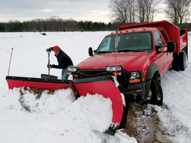 2006 Ford Super Duty Snowplow Testing - Features - Diesel