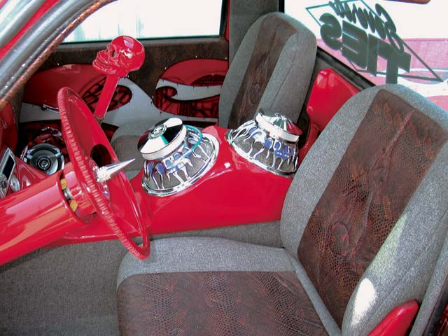 custom 1993 Ford Ranger custom Interior