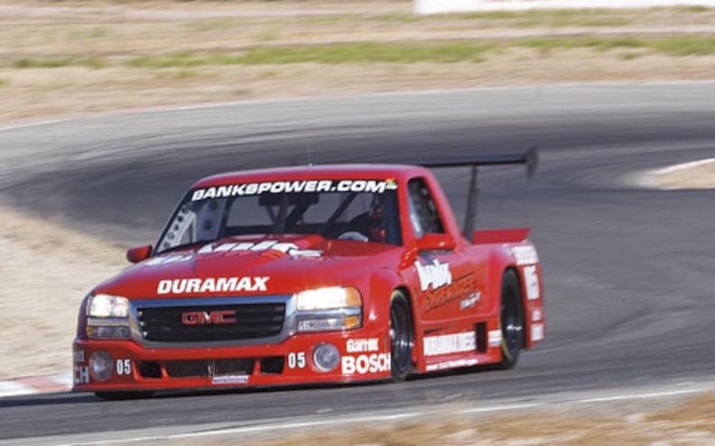 gmc Duramax Racing front View