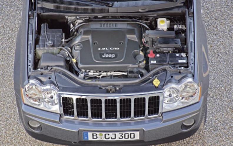 2007 Jeep Grand Cherokee Diesel engine