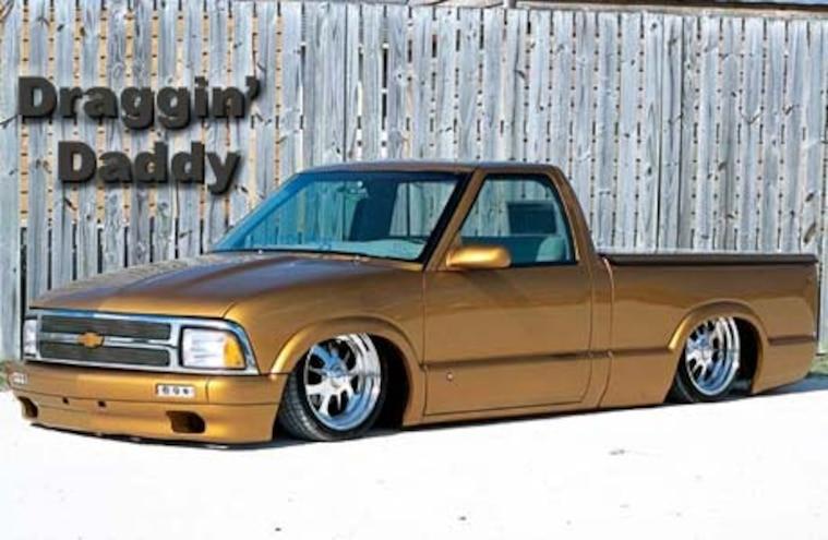 1995 Chevy S10 Featured Custom Trucks Truckin Magazine