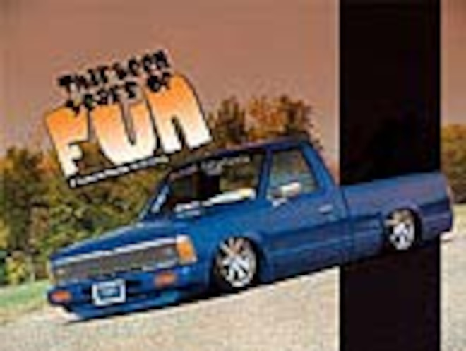Custom 1985 Nissan 720 Truck - Feature Truck - Mini Truckin