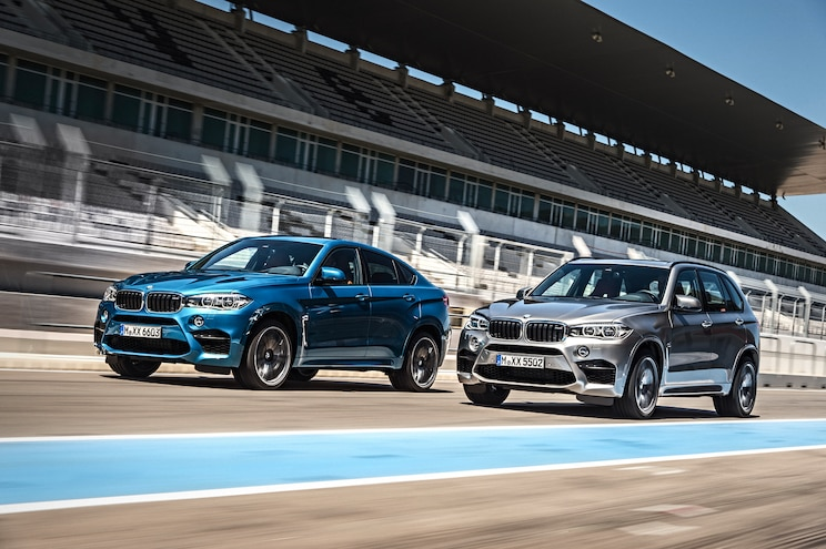 BMW Releases Details About X5 M and X6 M Ahead of L.A. Debut