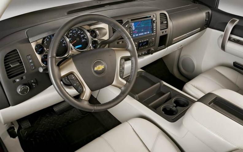 2007 Chevrolet Silverado interior View