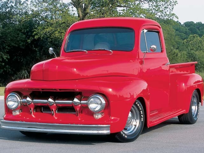 1952 Ford F1 Pickup front Side View