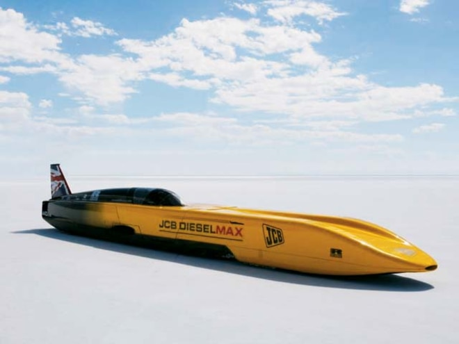 diesel Speed Record Car lead Photo