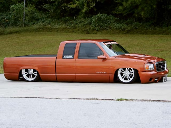 1993 Gmc Sierra old Front Side View