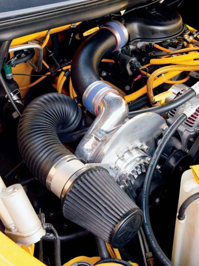 1999 Dodge Ram air Filter View