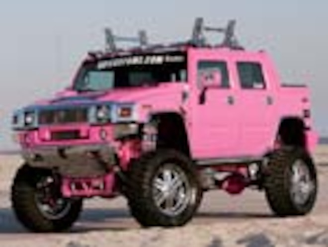 Custom Pink Hummer H2 - Fun-Time Barbie