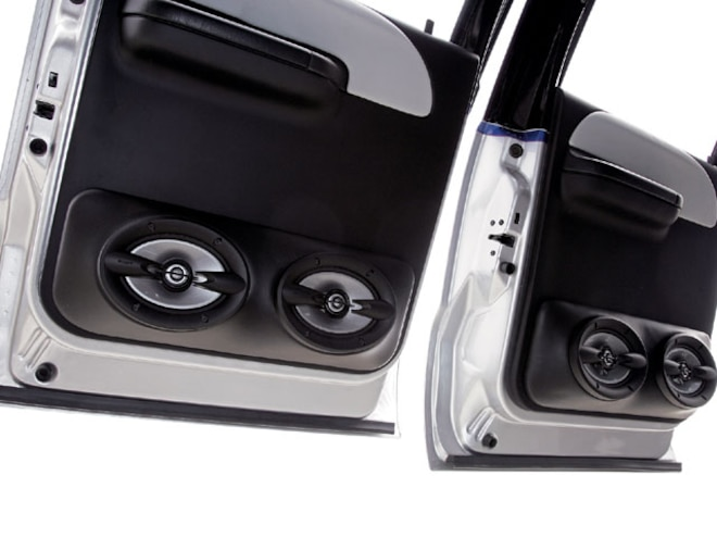 ford F650 sony Speakers