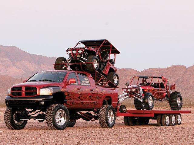 2006 dodge ram - custom truck and dune buggy