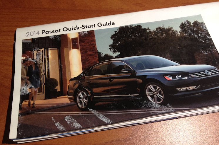 2014 Volkswagen Passat Quick Start Guide