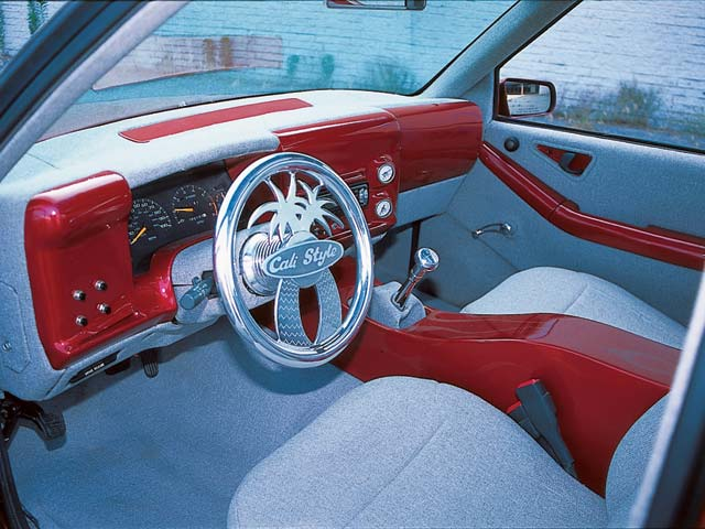 1996 Chevrolet S10 custom Interior Center Console