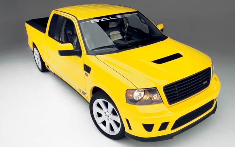 Road Test The Saleen S331 Sport Truck