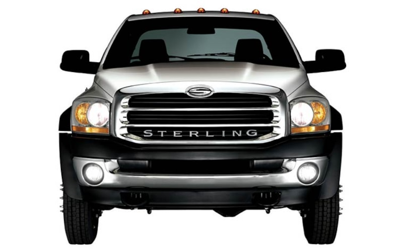 chrysler Sterling Dodge Ram Pickup front Grill View