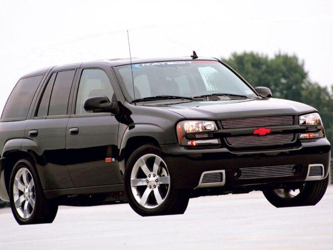 2006 Chevy Trailblazer Ss right Side