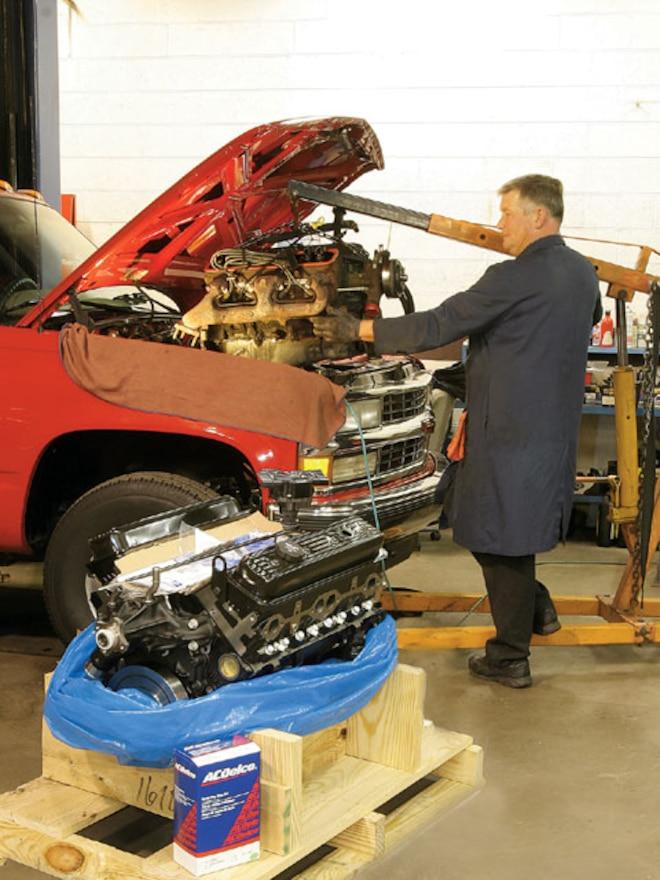 1996 Chevy Truck lowering Motor