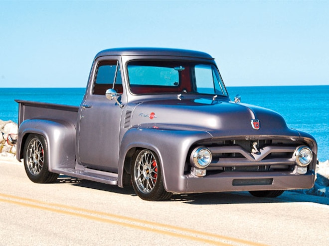 1955 Ford F100 front View
