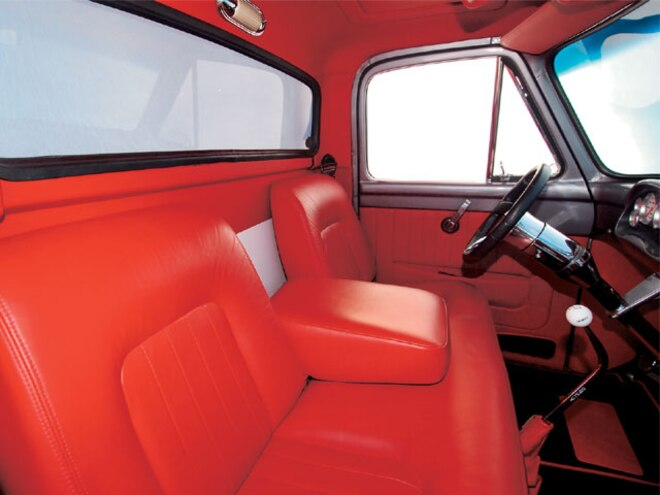 1955 Ford F100 seats