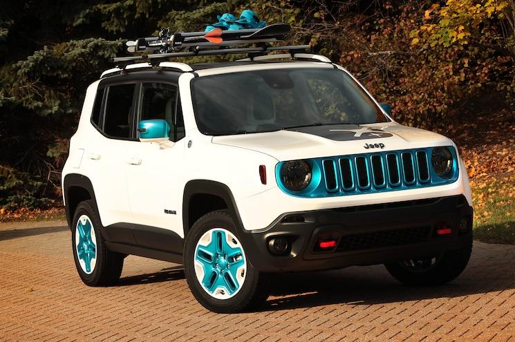 Jeep Renegade Frostbite For 2014 SEMA Show