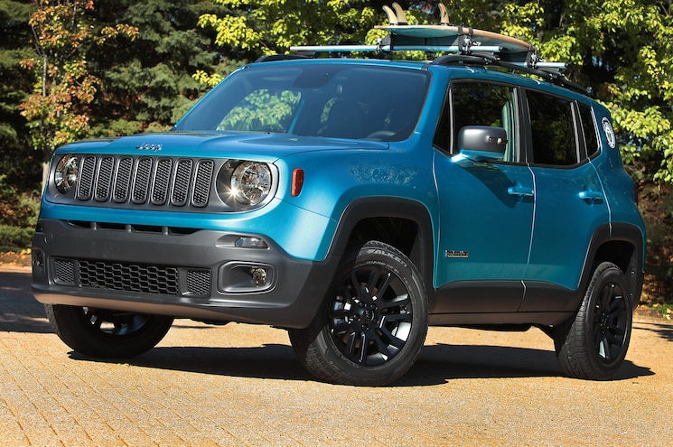 Jeep Renegade Riptide For 2014 SEMA Show