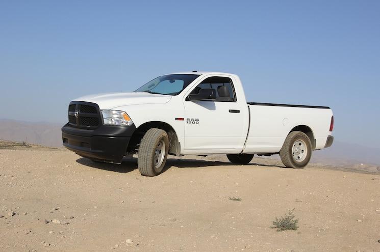 2014 Ram 1500 EcoDiesel Tradesman Regular Cab Side Profile