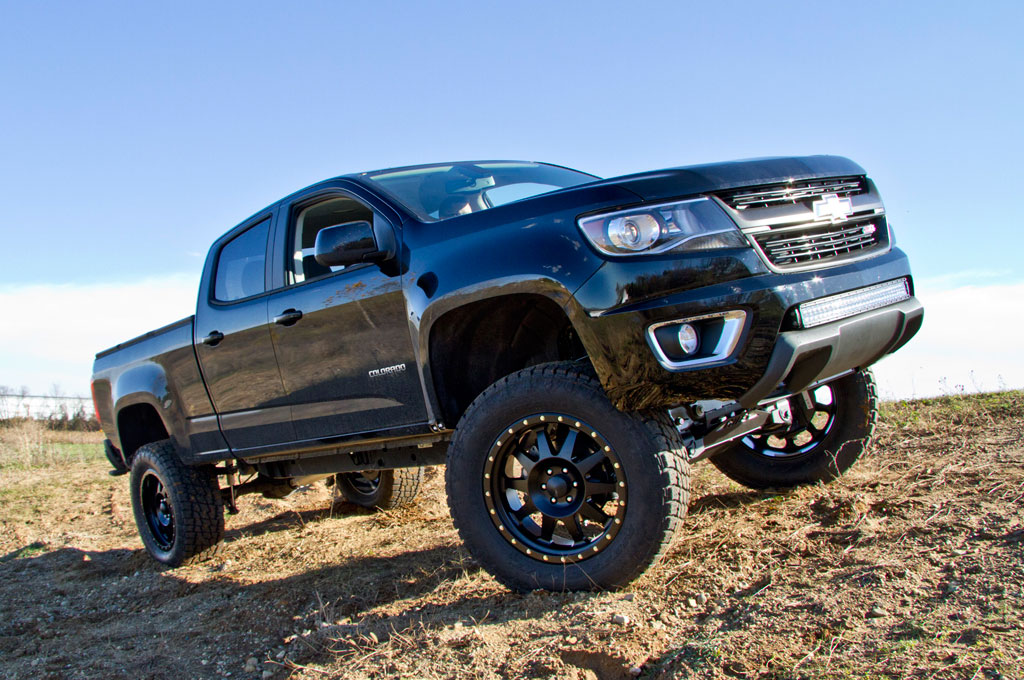 BDS Suspension Showcases Lifted 2015 Chevrolet Colorado