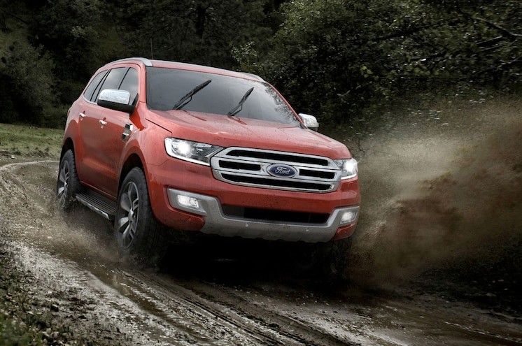 Ford Releases Not-For-U.S. Everest SUV in China
