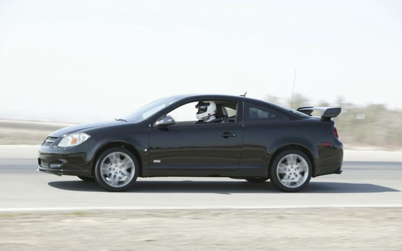Quick Test 2008 Chevrolet Cobalt Ss First Drive Motor Trend