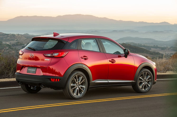 2016 Mazda CX 3 Rear Three Quarter