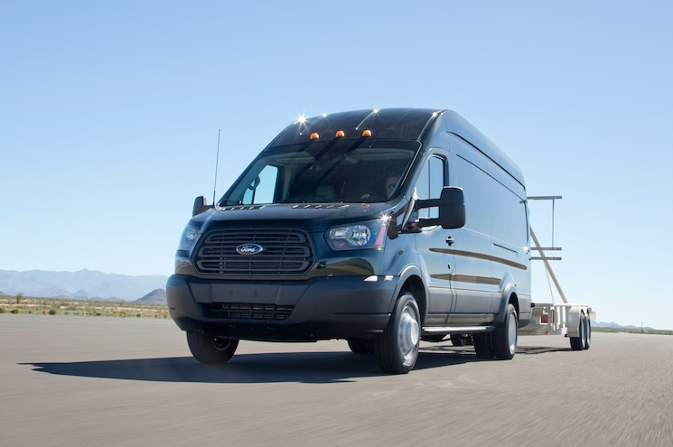 2015 Ford Transit 350HD Front Three Quarter Tow