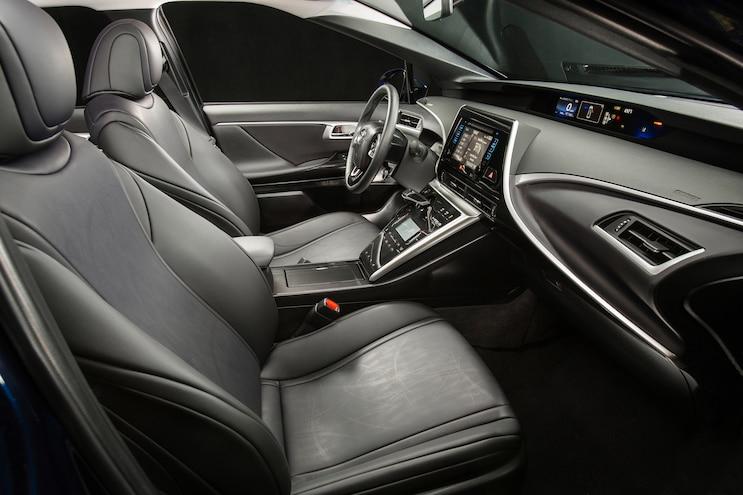 2016 Toyota Mirai Interior View 02