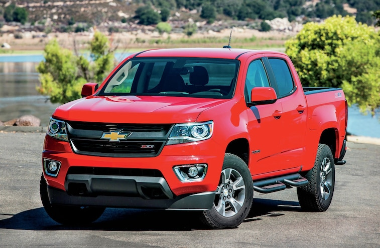 2015 Chevrolet Colorado and 2015 GMC Canyon - Factory Fresh