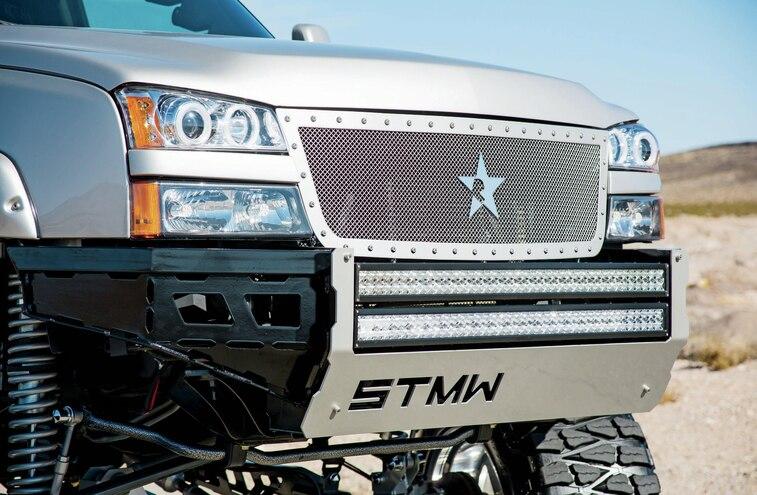 2007 Chevrolet Silverado 2500 Headlights