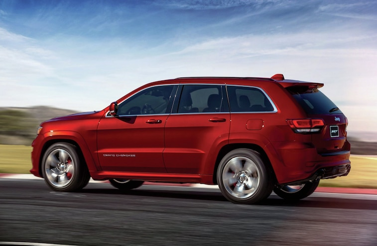 2014 Jeep Grand Cherokee Srt Rear Three Quarter