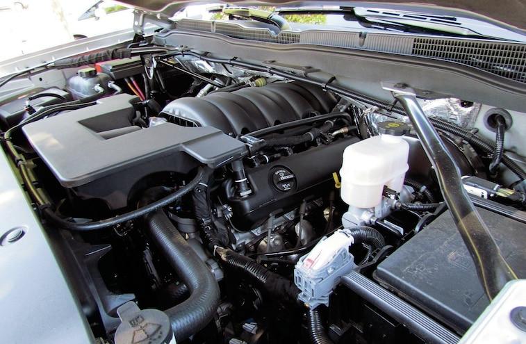 2014 Chevy Silverado V8 Engine