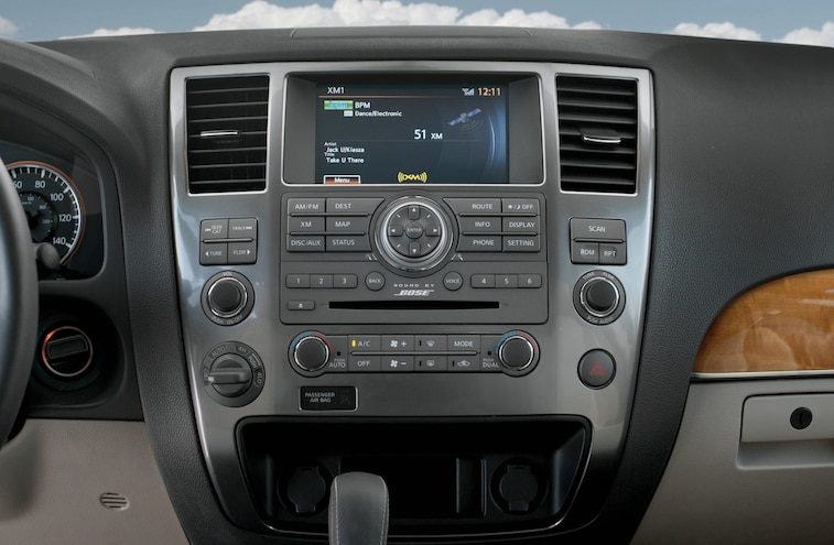 2014 Nissan Armada Platinum Reserve Info Center