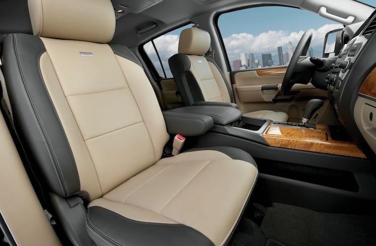 2014 Nissan Armada Platinum Reserve Interior
