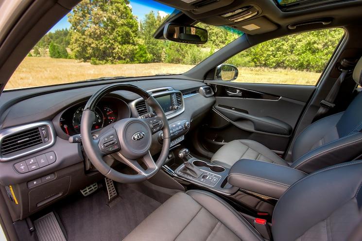 2016 Kia Sorento SXL Interior