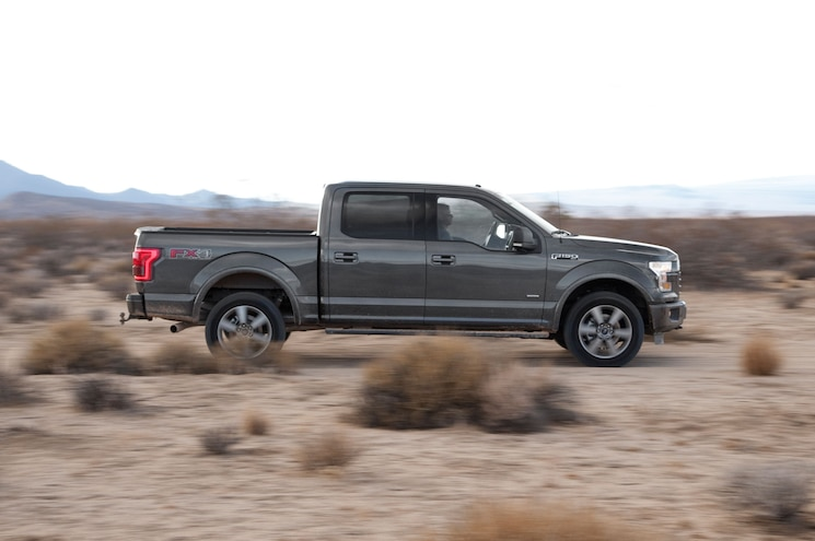 2015 Ford F 150 Off Road Side View