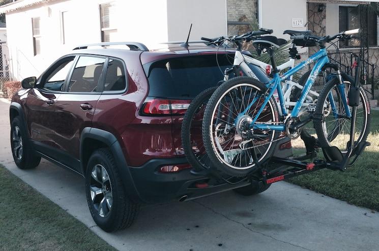 2014 Jeep Cherokee Trailhawk Bike Rack